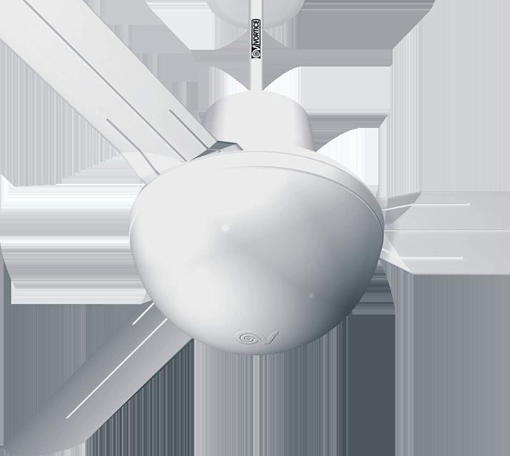 Nordik evolution r 140 56 oro bianco ventilazione - Ventilatori da soffitto vortice ...