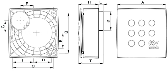 Schema Collegamento Aspiratore Vortice : Micro ventilazione residenziale centrifughi vortice