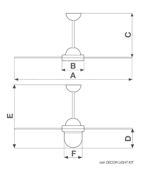 Schema Elettrico Ventilatore A Soffitto Vortice : Nordik s senza g c ventilazione estiva soffitto