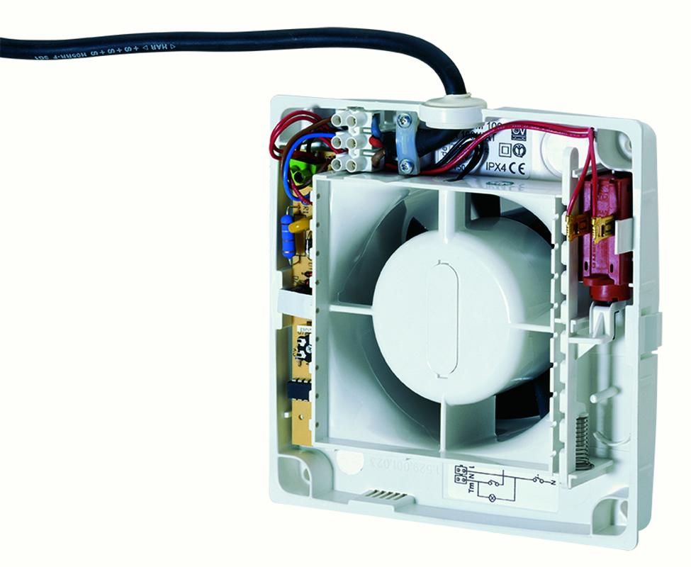 M 150 6 a ventilazione residenziale elicoidali vortice - Aspiratori vortice per bagno chiuso ...