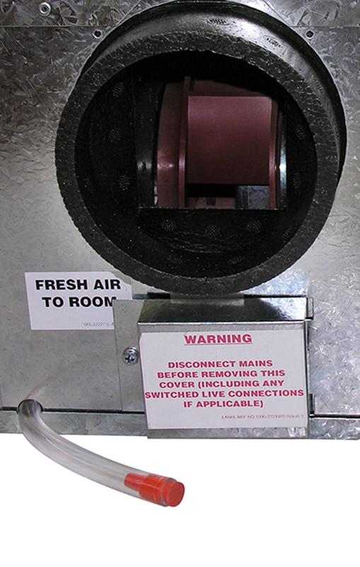 Hri mini ep ventilazione residenziale recupero calore - Ventilazione recupero calore ...
