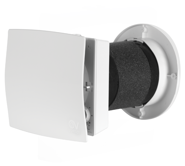 Vort hrw 20 mono ventilazione residenziale recupero calore vortice - Aspiratore bagno senza uscita esterna ...