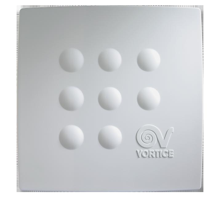 Bianco 1 Vortice Aspiratore centrifugo per condotti Quadro
