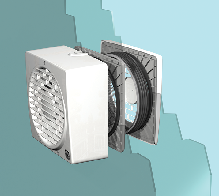 Vortice 300 12 ar ventilazione residenziale elicoidali vortice - Aspiratori vortice per bagno chiuso ...