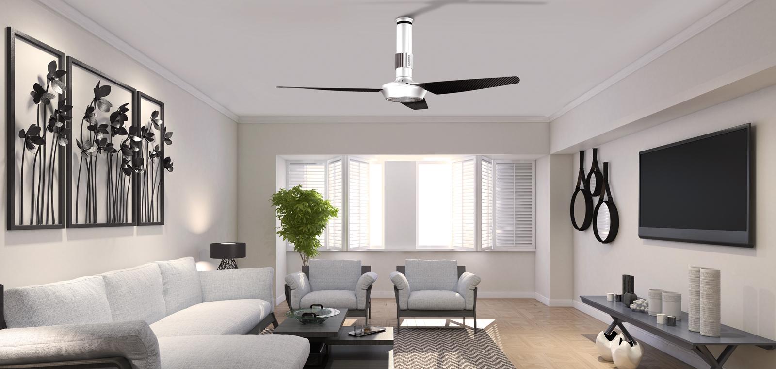 Nordik air design 140 29 bianco ventilazione estiva for Ventilatore leroy merlin