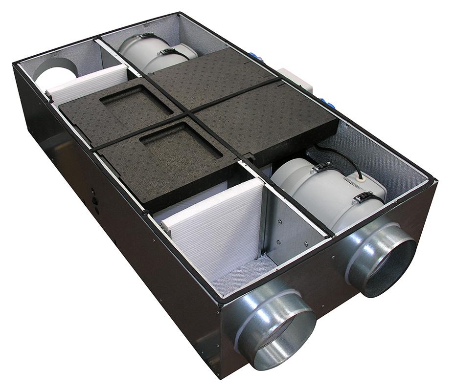 Hri e one ventilazione residenziale recupero calore vortice - Ventilazione recupero calore ...
