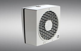 Ventilazione residenziale Elicoidali Muro / vetro - Vortice