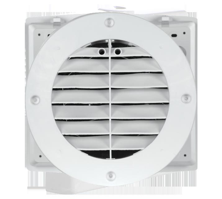 Vortice 11631 Recuperatore di calore Aspiratore DAria Purificatore Ventilazione Ambiente HRW 20 Mono HCS con sensore di umidit/à