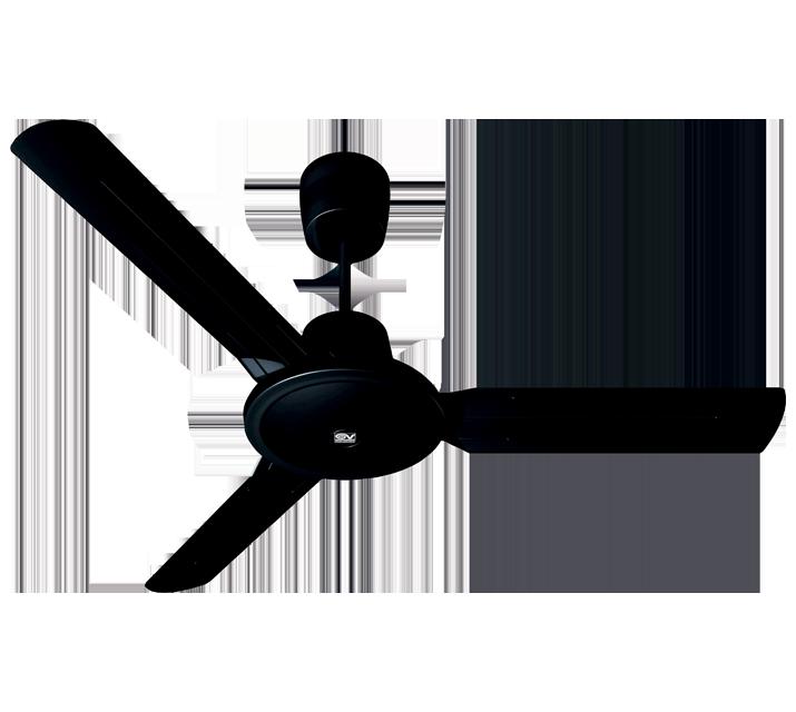 Vortice Lampadari A Pale.Nordik Evolution R 120 48 Nero Ventilazione Estiva Soffitto Vortice